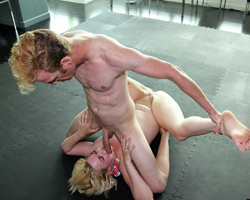 image Wrestled beaten and fucked hard by a girl