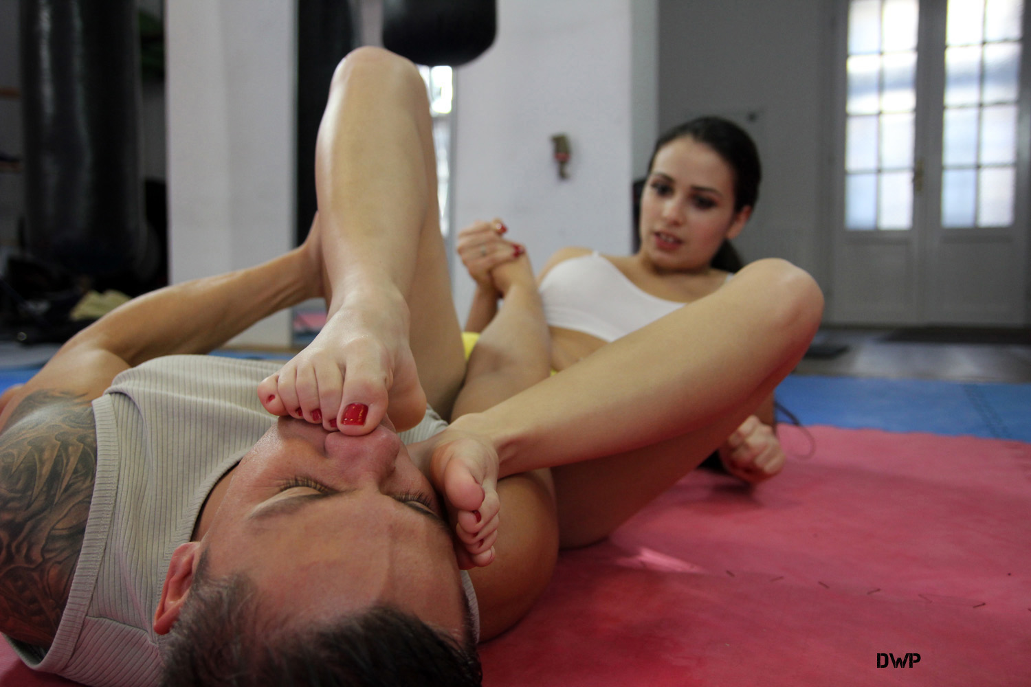 Think, what mixed wrestling foot fetish videos