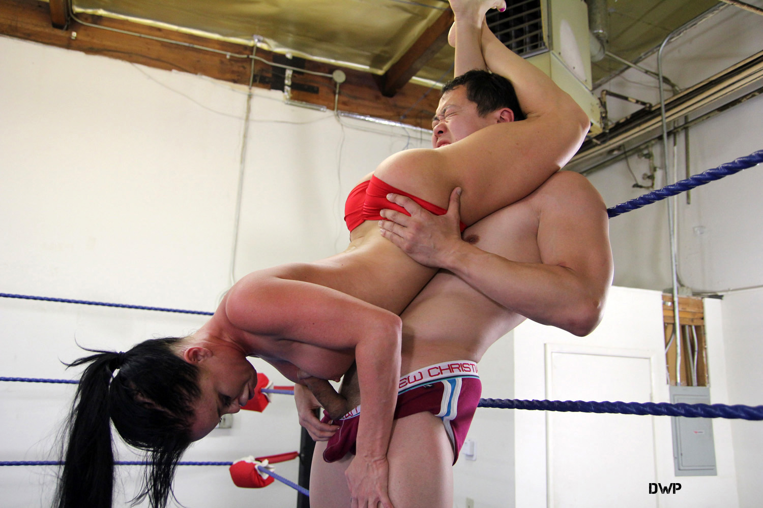 dirty mixed wrestling nude balls